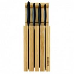 Blocco in bambù con 4...