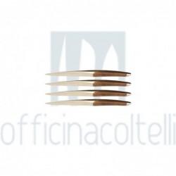 Set 4 Coltelli Da Tavola,...