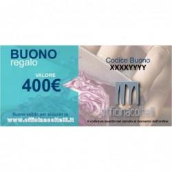 Buono Regalo - Gift Card 400 €