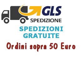 Spedizioni gratuite sopra 50 euro