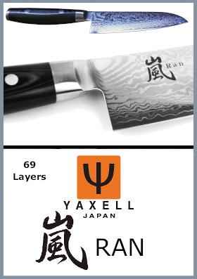 Coltelli da cucina giapponesi Yaxell 嵐 RAN