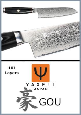 Coltelli da cucina giapponesi Yaxell 豪 GOU