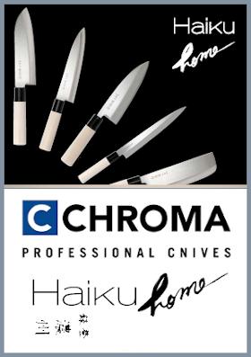 Coltelli da cucina giapponesi Haiku home Chroma