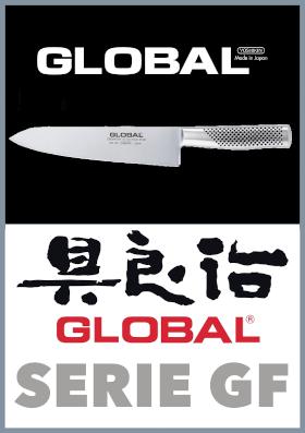 Coltelli da cucina Global serie GF
