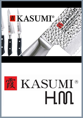 Coltelli da cucina Kasumi HM hammered