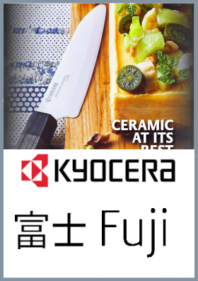Coltelli da cucina ceramica Kyo Fuji
