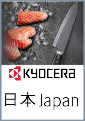 Coltelli da cucina in ceramica Kyocera Japan