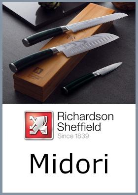 Coltelli da cucina Richardson Sheffield Midori