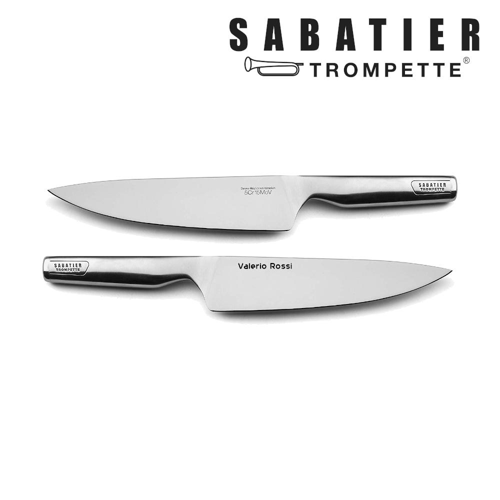 Esempio incisione sul lato destro della lama del coltello Sabatier Trompette Asean