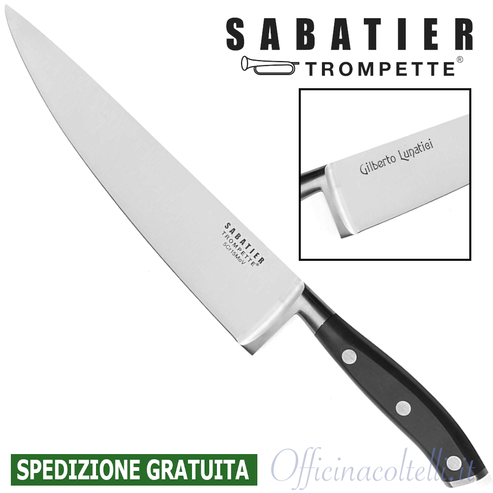 Coltello Chef 20 cm VU132 + Incisione laser