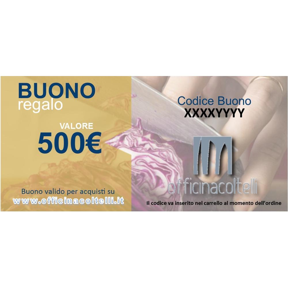 Buono Regalo - Gift Card 500 €