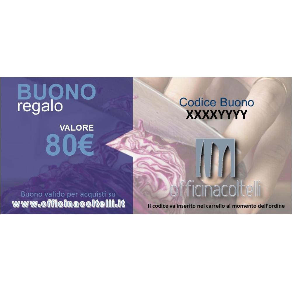 Buono Regalo - Gift Card 80 €