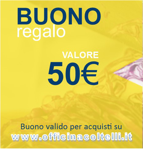 Buono Regalo - Gift Card 50 €