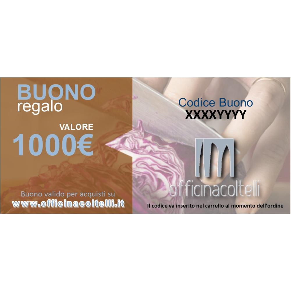 Buono Regalo - Gift Card 1.000 €