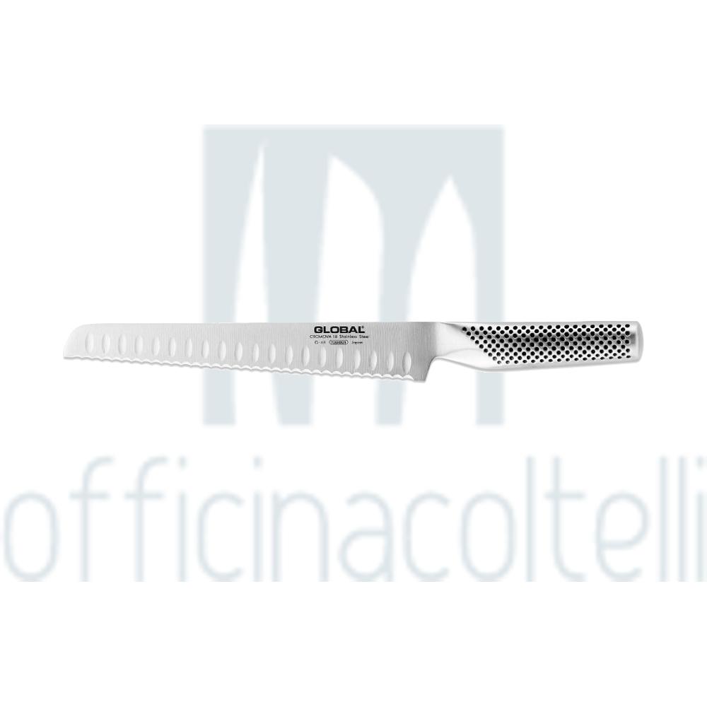 Coltello pane alveolato per Mancini, 22 cm G68