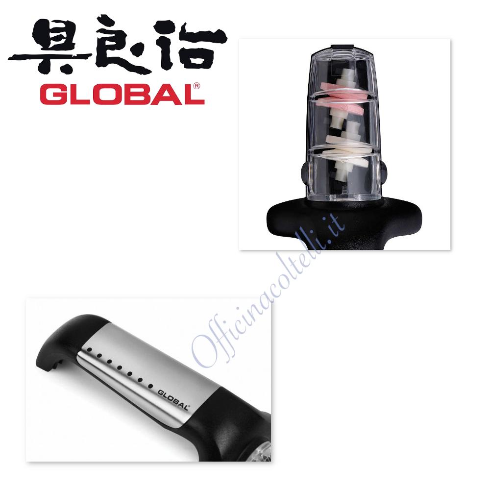 Global Affilatoio per coltelli in acciaio