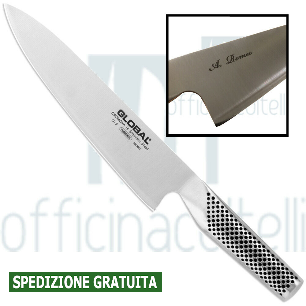 Coltello Cuoco, 20 Cm G2 + incisione laser