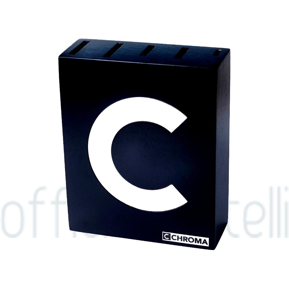 Ceppo per 5 coltelli Chroma Type 301