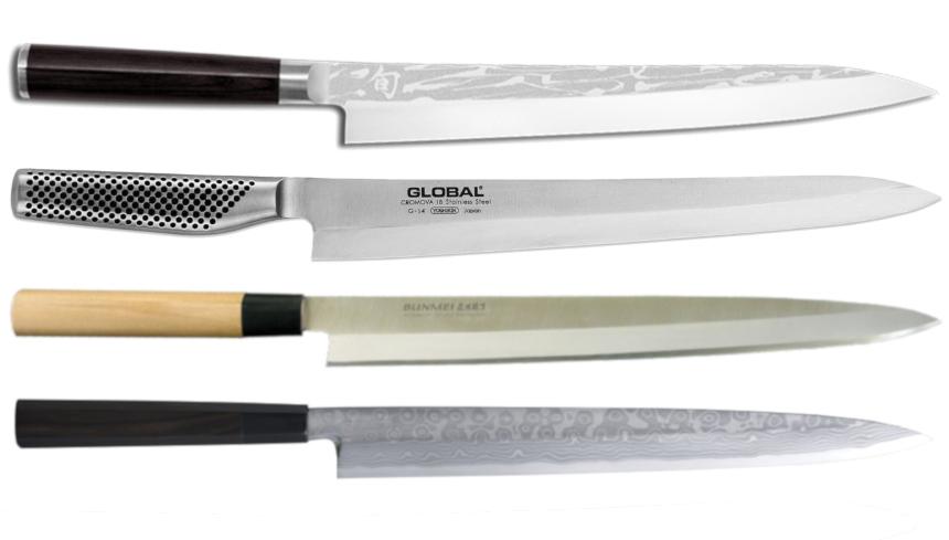coltelli sashimi sushi yanagiba i migliori su officinacoltelli