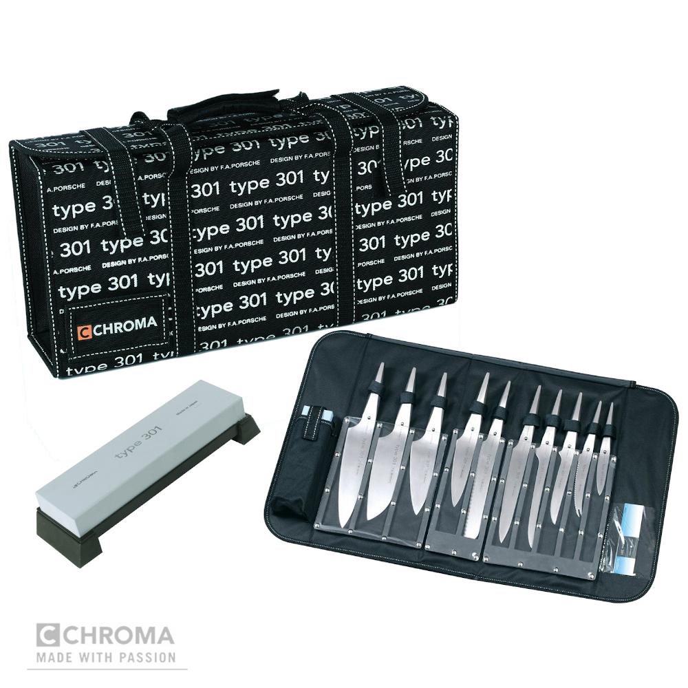 Set 12 pezzi Chroma Type 301