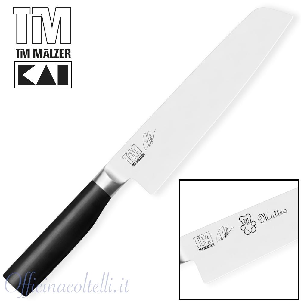Coltello Da Cuoco/Nakiri 20 Cm + Incisione laser