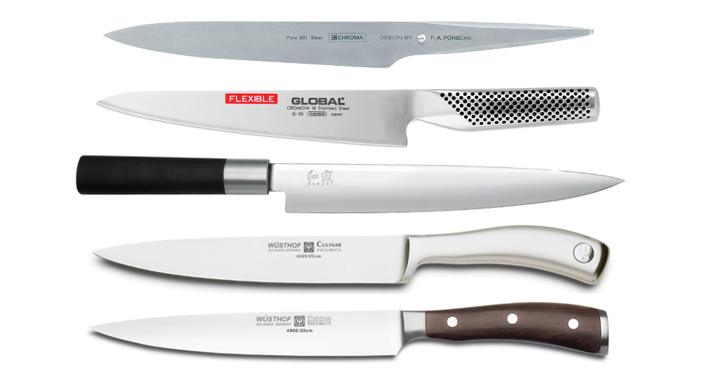 trinciante stretto coltello carne cruda cotta pesce i migliori modelli